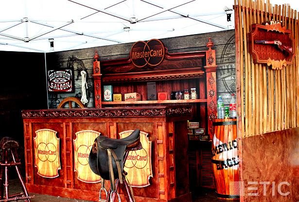 Изготовление ковбойских декораций